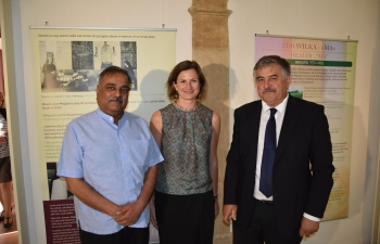 Opening of the exhibition Seeking Magdalena, Betka Kajnč in India, in Ormož