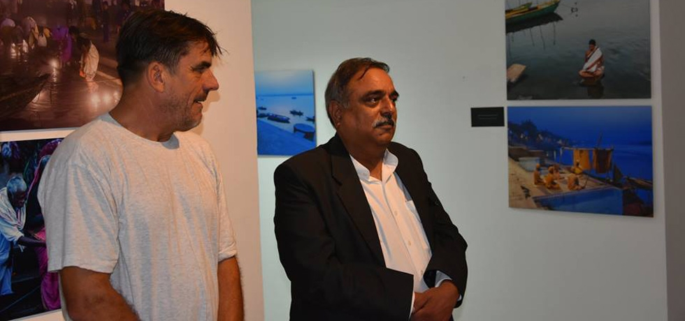 Ambassador Mann inaugurated photo exhibition titled