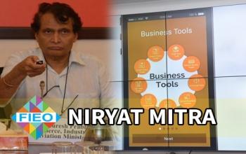 Niryat Mitra mobile app