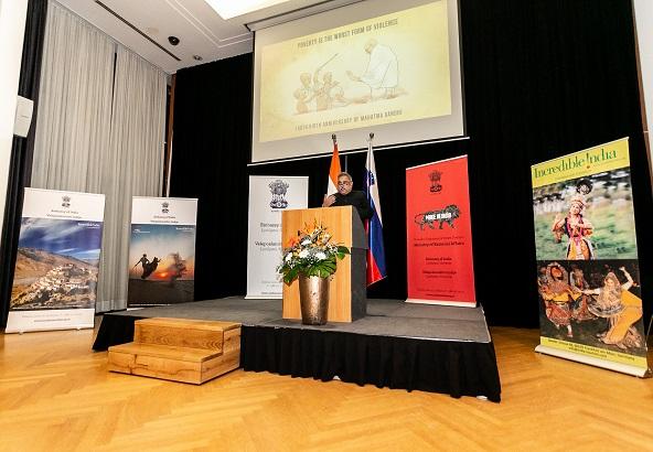 Republic Day Celebration in Ljubljana