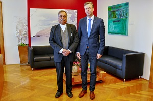 Dolenjska region capital visited by Ambassador of India