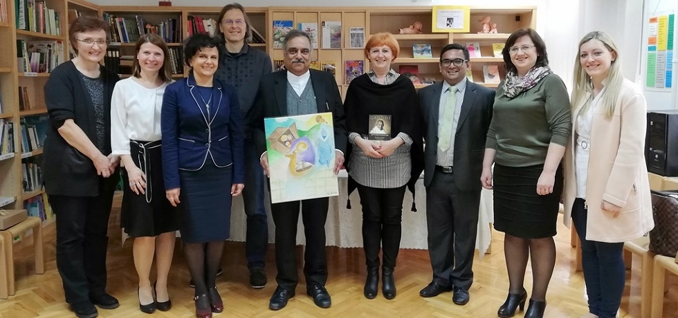 Ambassador visited the Novo mesto Center Primary School on Tuesday, 26 March 2019