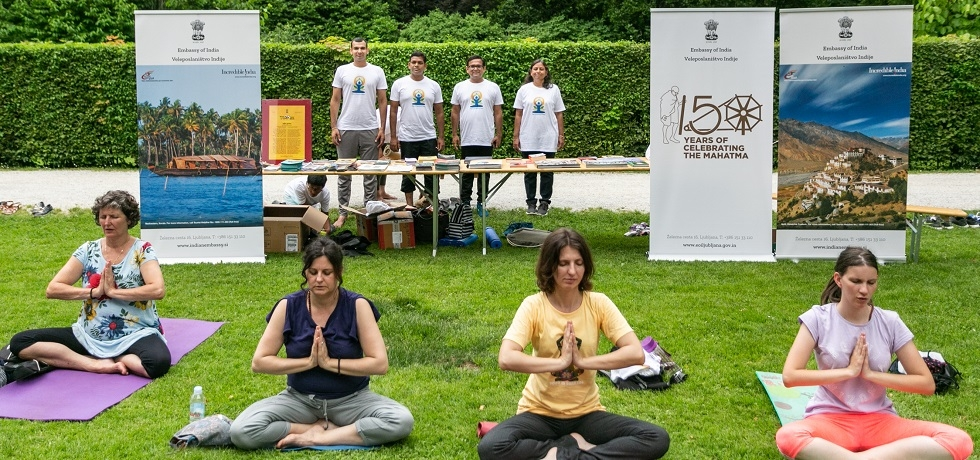 5th IDY was celebrated by the Embassy in Arboretum Volčji Potok on 15 June 2019
