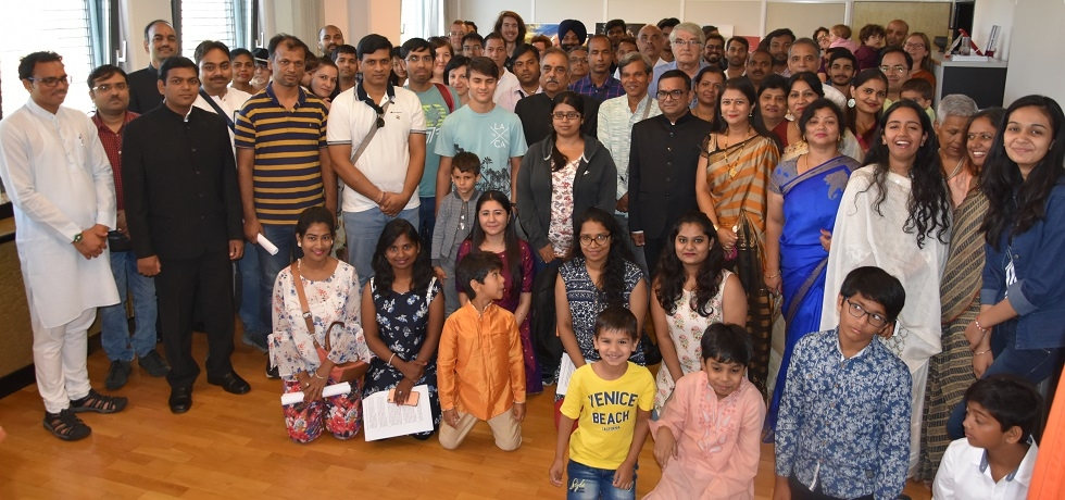 The Embassy celebrated Independence Day of India on 15 August 2019