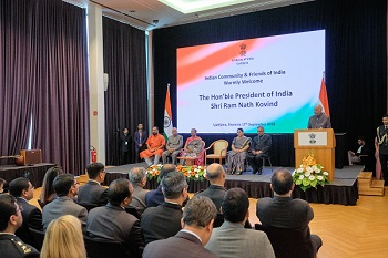 Address by the President of India, Shri Ram Nath Kovind, at the Indian Community Reception in Slovenia