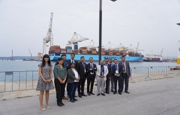 Port of Koper Visit by Indian Business Delegation