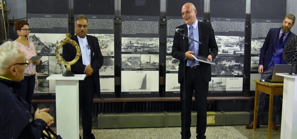 India Welcome exhibition at the Coal Mining Museum of Slovenia was opened on 15 October 2019