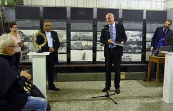 Welcome India exhibition at the Coal Mining Museum of Slovenia
