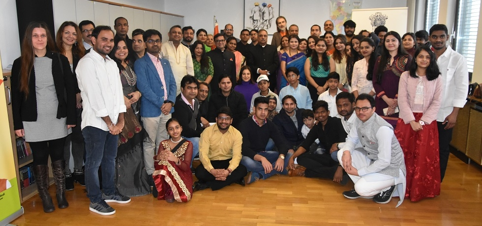 Celebration of the Republic Day of India at the Embassy on 26 January 2020