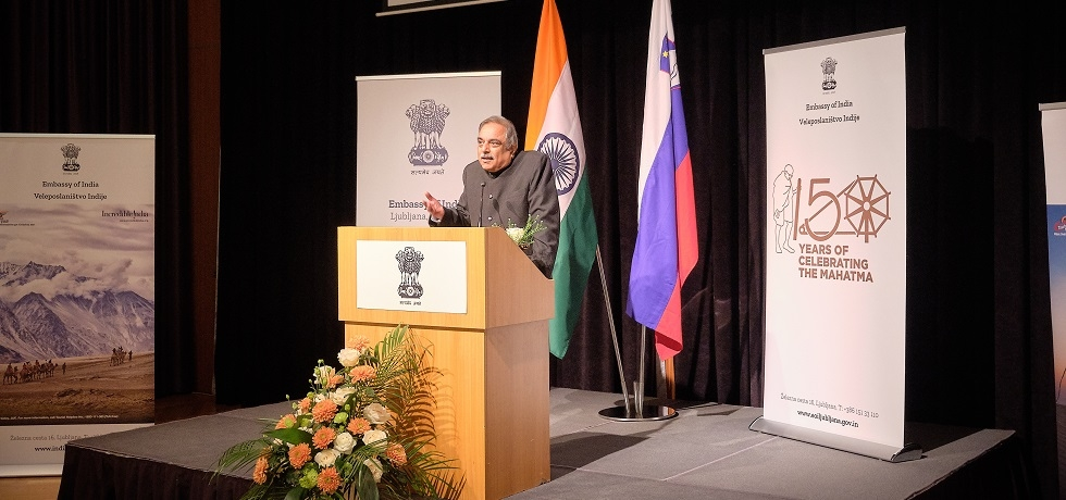 Reception on the occasion of the Republic Day of India in Ljubljana on 24 January 2020