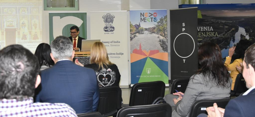 """""""India Surging Ahead: Opportunities for Slovenia"""" - Business event organized in Novo Mesto on 19 February 2020"""