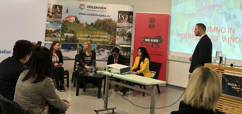 "Business event ""India Surging Ahead: Opportunities for Slovenian Companies"" in Novo Mesto on 19 February 2020"