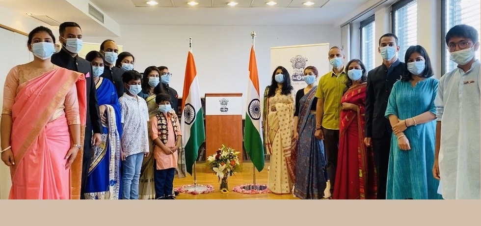 Embassy celebrates 74th Independence Day on 15 August 2020