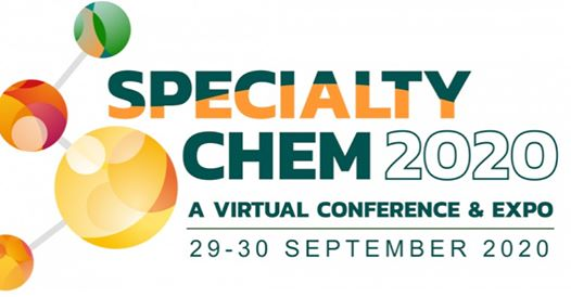 Specialty Chem 2020, A Virtual Conference & Expo, 29-30 September 2020