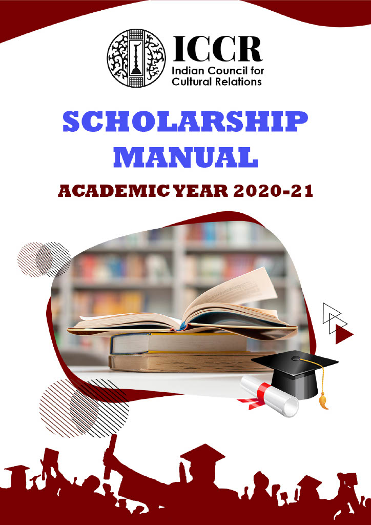 ICCR's Scholarship Manual for Academic Year 2020-21
