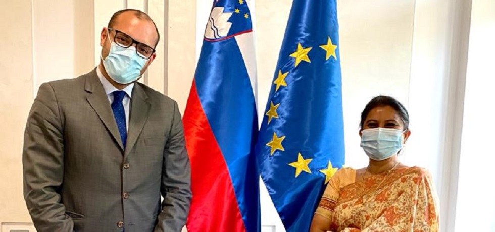 Ambassador meets with Mr. Slobodan Šešum, Acting Director-General Directorate for Economic and Public Diplomacy at the Ministry of Foreign Affairs of the Republic of Slovenia