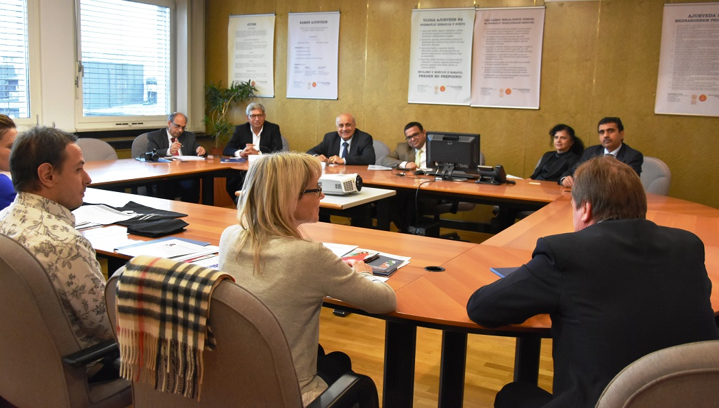 Meeting of AEPC delegation with the representatives of Slovenian apparel imports company representatives