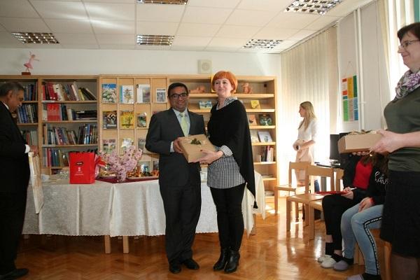 Visit of Novo Mesto Center Primary School