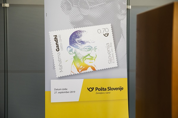 Release of Commemorative Postage Stamp dedicated to 150th Birth Anniversary of Mahatma Gandhi