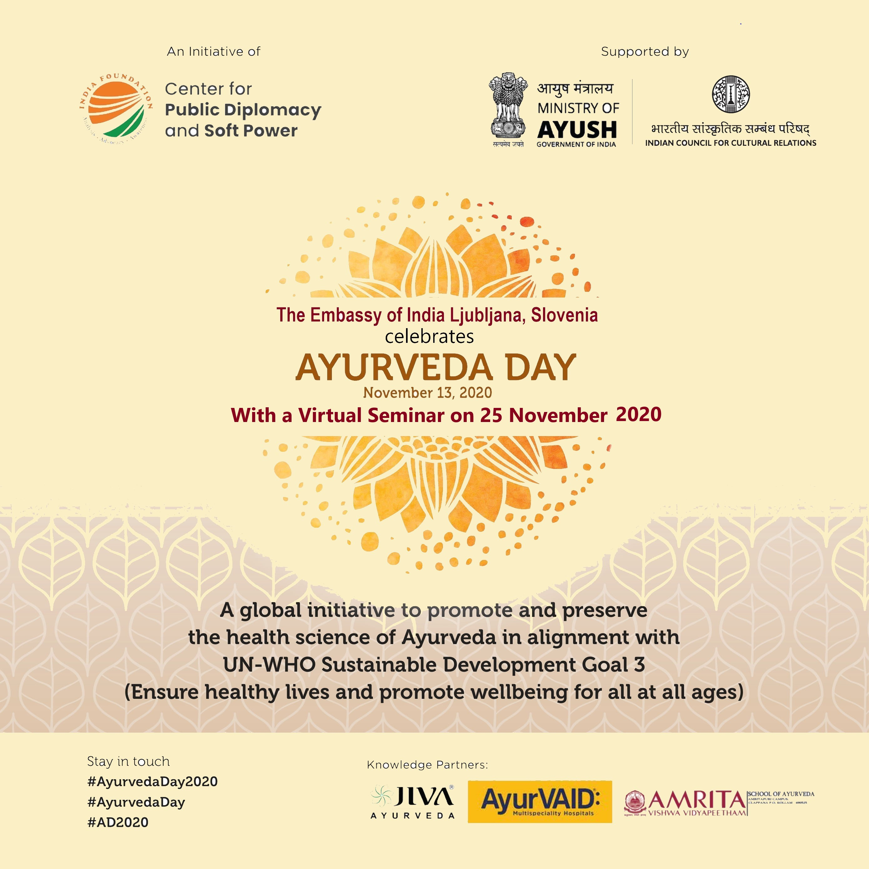National Ayurveda Day 2020