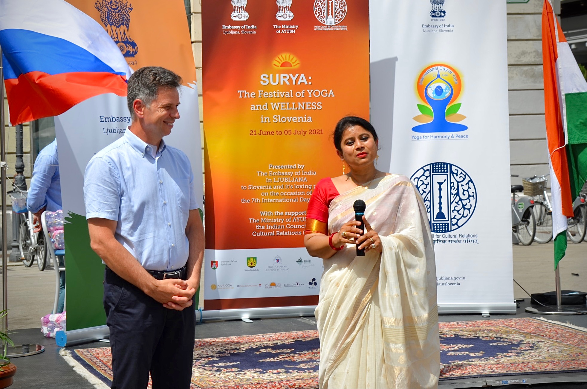 1st edition of Surya Festival of yoga and wellness in Slovenia from 21 June 2021 to 5 July 2021