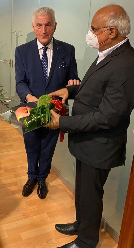 ICCR President visit to Slovenia (26-29 September 2021)